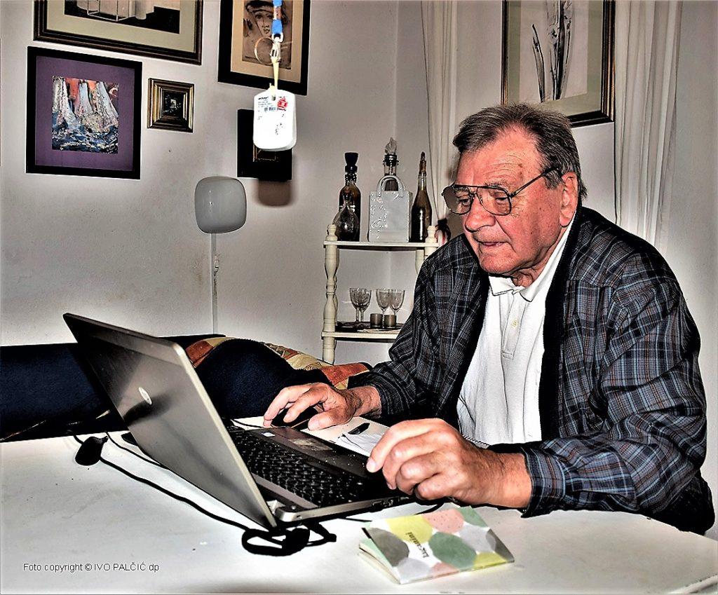 Dinko Supić u radnom ambijentu