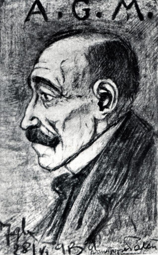Ivan Palčić, Antun Gustav Matoš, 1913., Grafička zbirka Nacionalne i sveučilišne knjižnice u Zagrebu, preuzeto iz monografije
