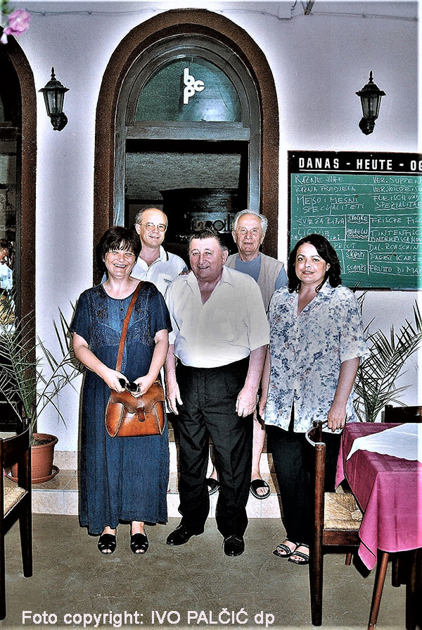 Boris Palčić Caskin sa prijateljima