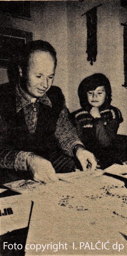 Matković sa kćerkom