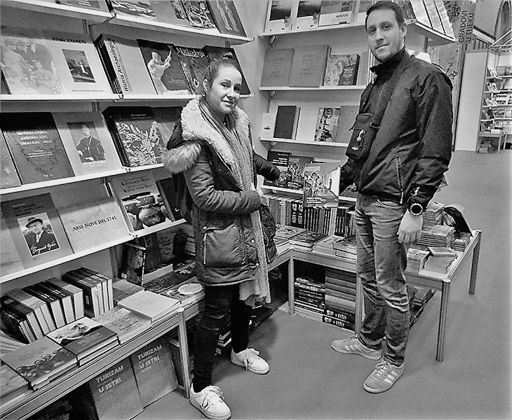 Paška čipka na Sajmu knjiga u Istri